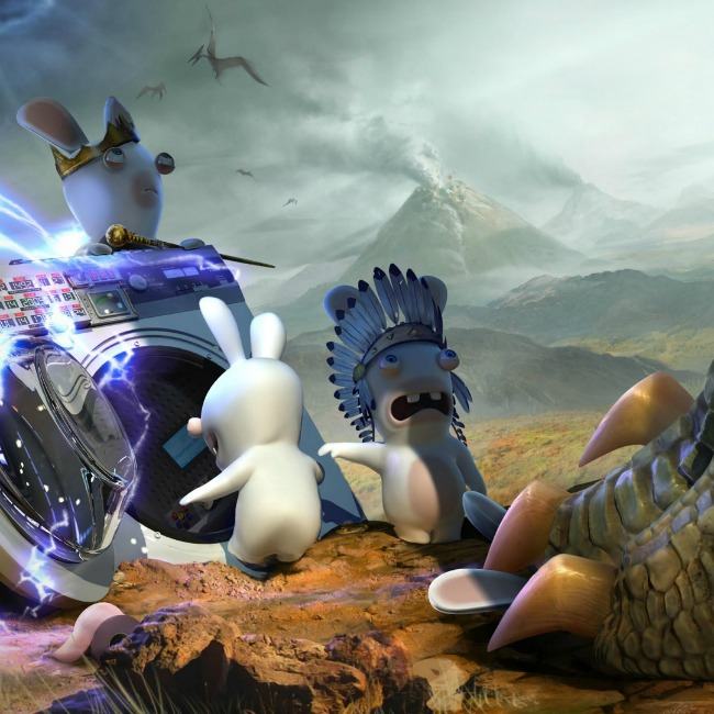 Raving rabbids travel in time jurassic