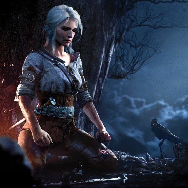 The witcher 3 wild hunt ciri