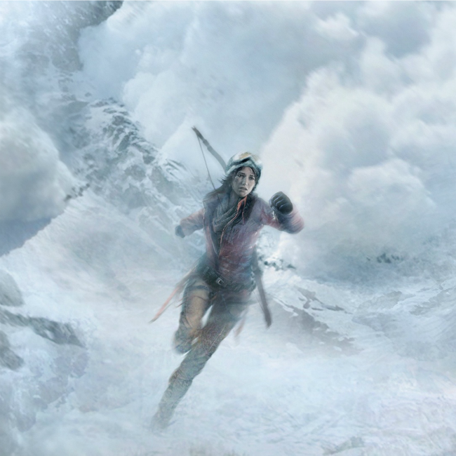 Rise of the tomb raider snow avalanche